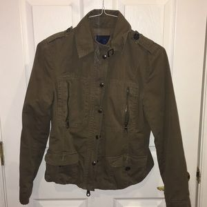 Airy Vintage Military Jacket. Size 8(M)